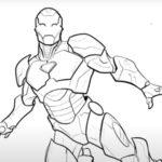 マーベル公式 How to Draw 「アイアンマン」の動画が公開